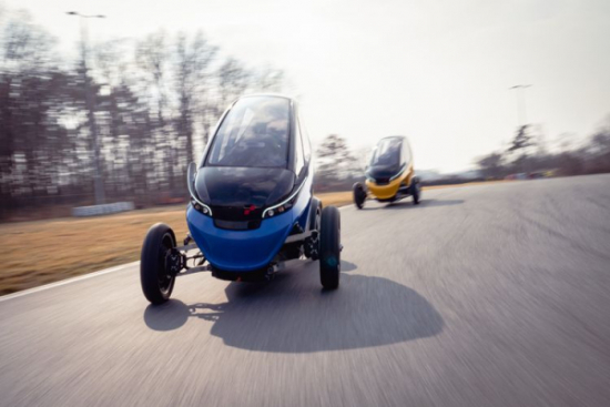Triggo rozpoczyna produkcję pilotażowej serii pojazdów
